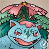 Effra the Mega Venusaur avatar by InukoPuppy