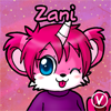 Zani the Unibear avatar by InukoPuppy