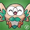 [Free Avatar] Rowlet by InukoPuppy