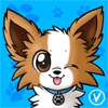 [Avatar Commission] Fluff the papillon by InukoPuppy