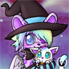 [Halloween YCH Avatar Commission] Airin witch by InukoPuppy