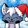 [Christmas Avatar Commission] Teadkn the Husky by InukoPuppy