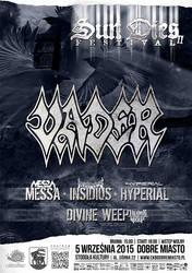 Sun Dies Festival II poster by BlackTeamMedia
