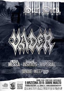 Sun Dies Festival II poster