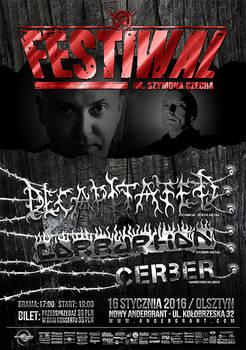 Festiwal im. Szymona Czecha - poster