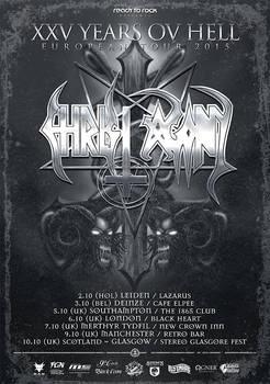 Christ Agony - Tour poster