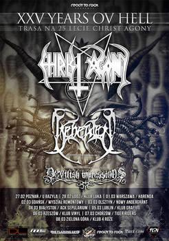 Christ Agony/ Beheaded/ Devilish Impressions Tour