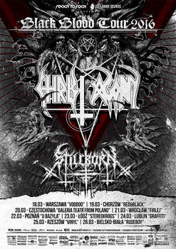 Christ Agony Tour poster