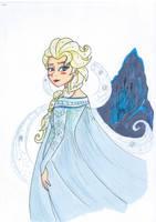 Elsa Frozen by Shingery