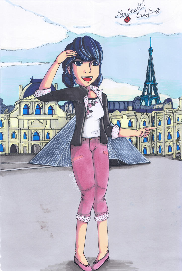 Miraculous _ Marinette by Shingery