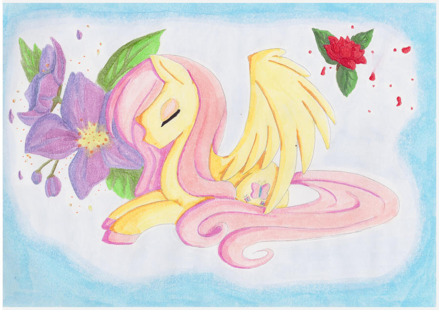 My little pony Fluttershy by Shingery