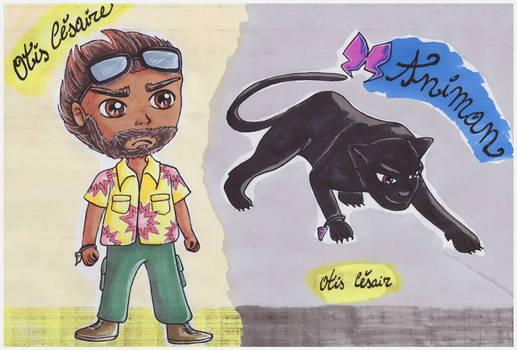 Otis Cesaire and Animan