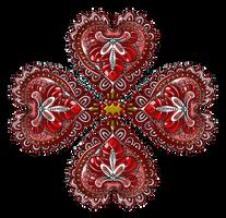 Flor-corazones-zen-tangle-01 by Creaciones-Jean
