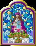 Virgen-divina-pastora-vitral