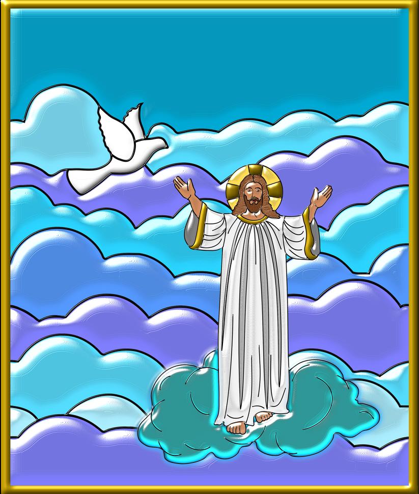 Vitral-jesus by Creaciones-Jean