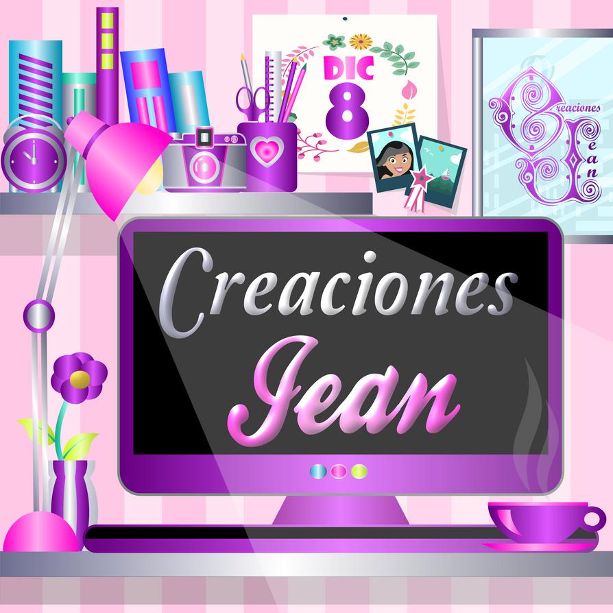 Logo-imagen-de-perfil-creaciones-jean by Creaciones-Jean