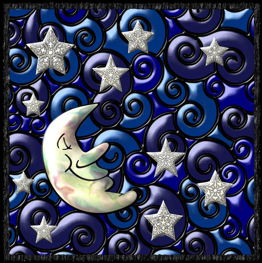Vitral-noche-feliz by bbvzla
