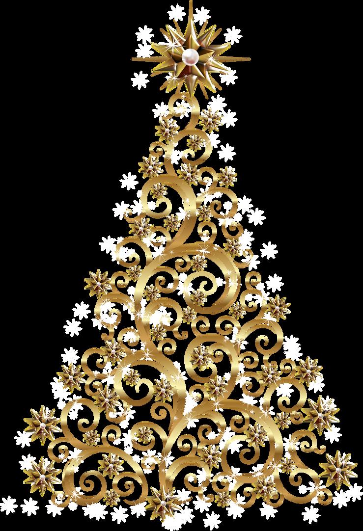 Arbol de navidad 23 by creaciones jean on deviantart - Arboles de navidad dorados ...