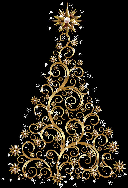 Arbol de navidad 23 by creaciones jean on deviantart for Arbol de navidad dorado