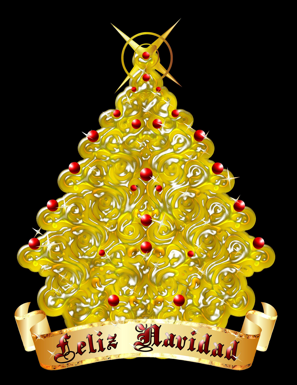 Arbolito navidad 63 by creaciones jean on deviantart for Arbol de navidad dorado