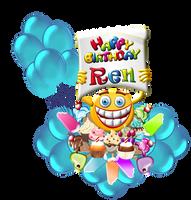 Happy-Birthday-Ren by Creaciones-Jean