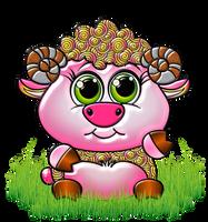 Horoscopo-chino-2018-cabra-u-oveja by Creaciones-Jean