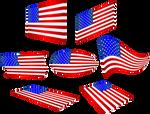 Bandera-Estados-Unidos-de-Norteamerica-01.1 by Creaciones-Jean