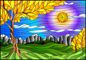 vitral-paisaje-por-Zagory-colores-degradados