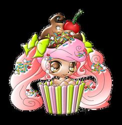 Cupcake Girl By Yampuff.3