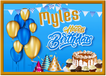 Felicidades Myles