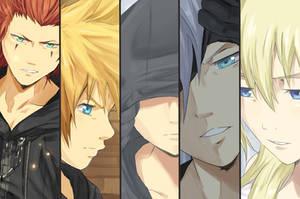 Kingdom Hearts 358 Days by MrLipschutz