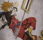 Sora - Limit form: Strike Raid