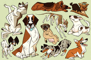 MORE DOGS by defauts