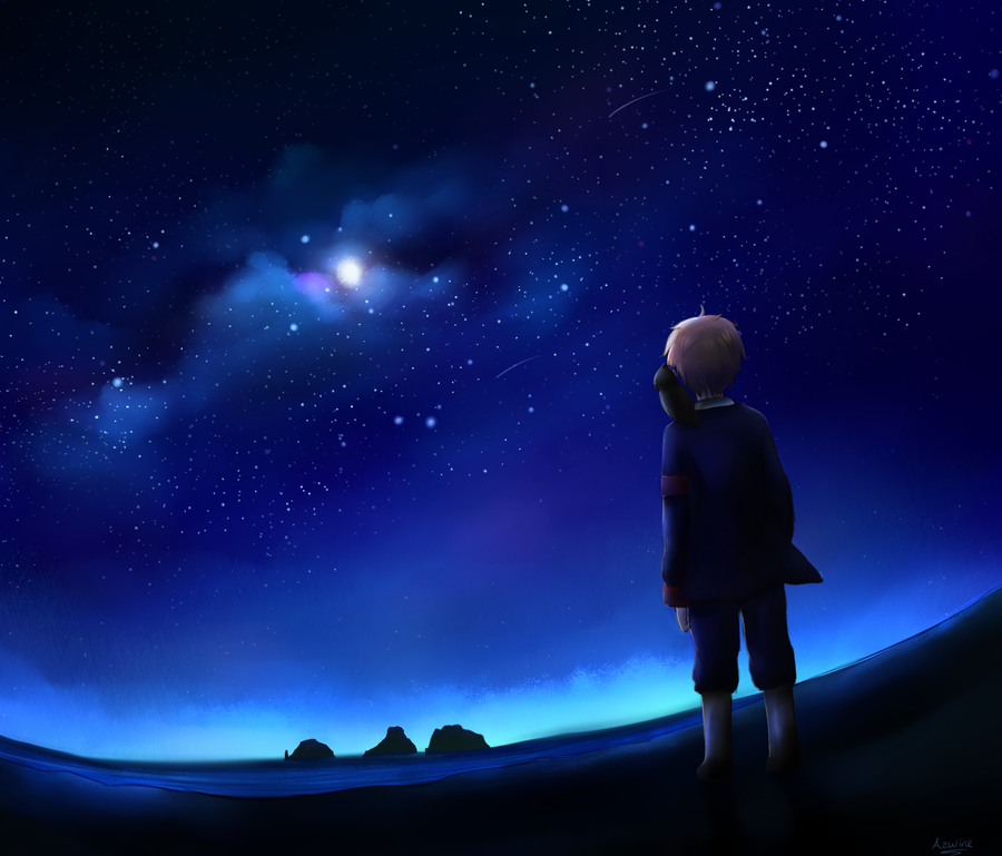 Starfall by Capri-of-the-North