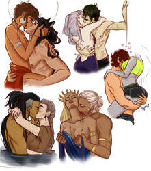 Kiss sketches