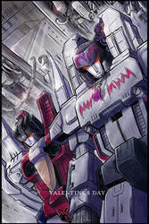 Megatron and Starscream by Seventing