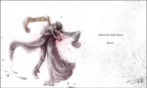 harry and draco hug