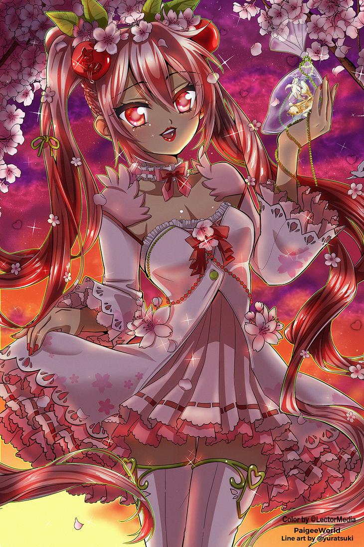 Hatsune Miku Sakura Entry by LectorMedia