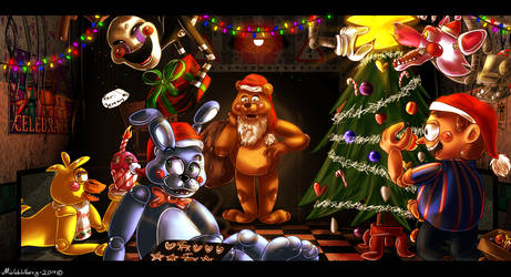 Have a Merry FNAF2 Christmas!