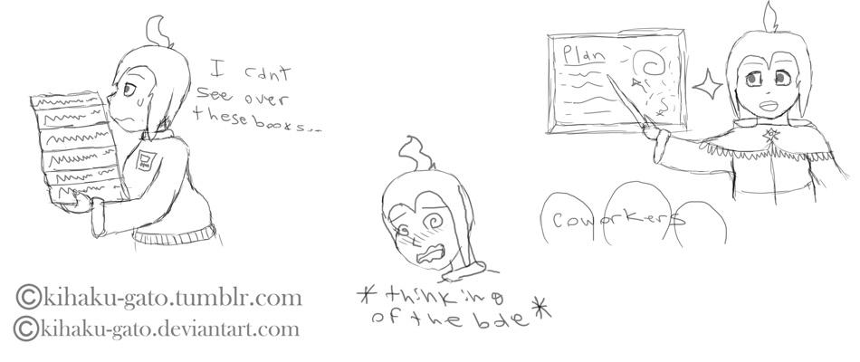 OC-tober Art Challenge Day 5- Beneri Hoem by Kihaku-Gato