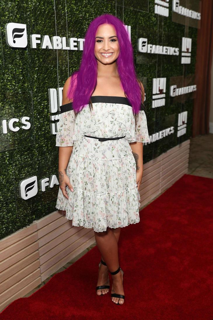 Demi Lovato Pink by scotishjoker1edits