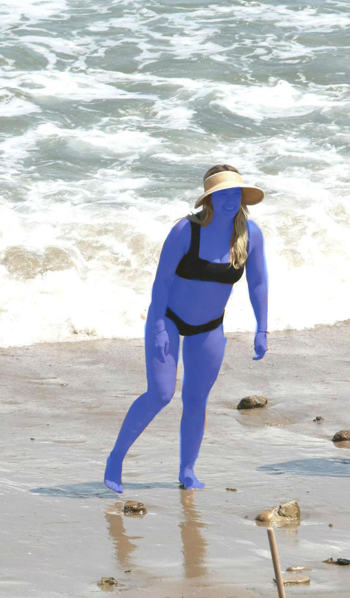 Hilarys Beach Day by scotishjoker1edits