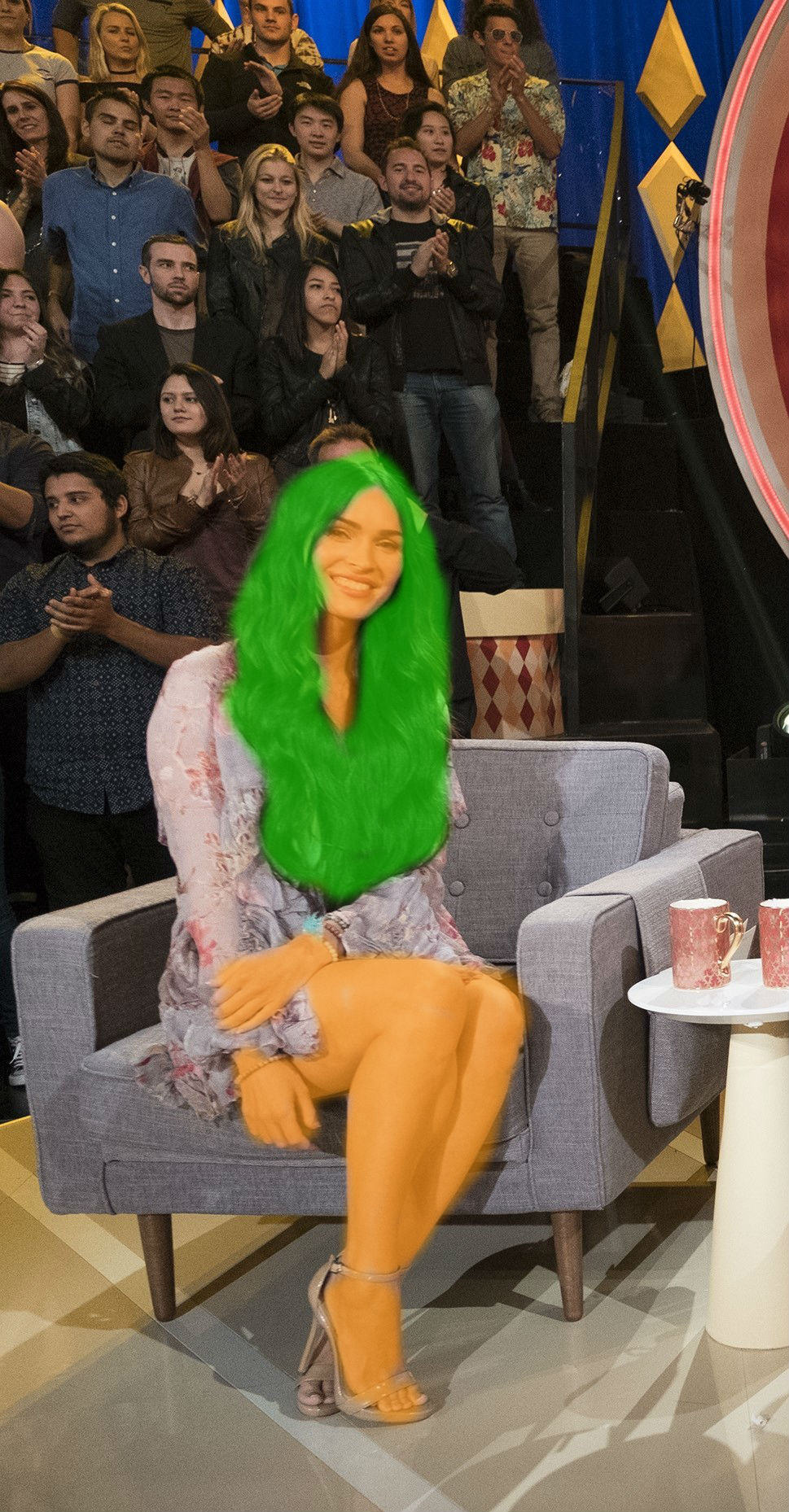 Loompa Girl Megan Fox by scotishjoker1edits