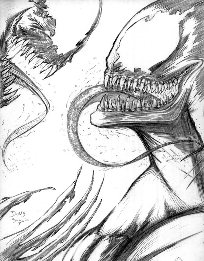Carnage vs Venom by DougSQ on DeviantArt
