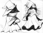 Orko and Dree Elle from He-Man