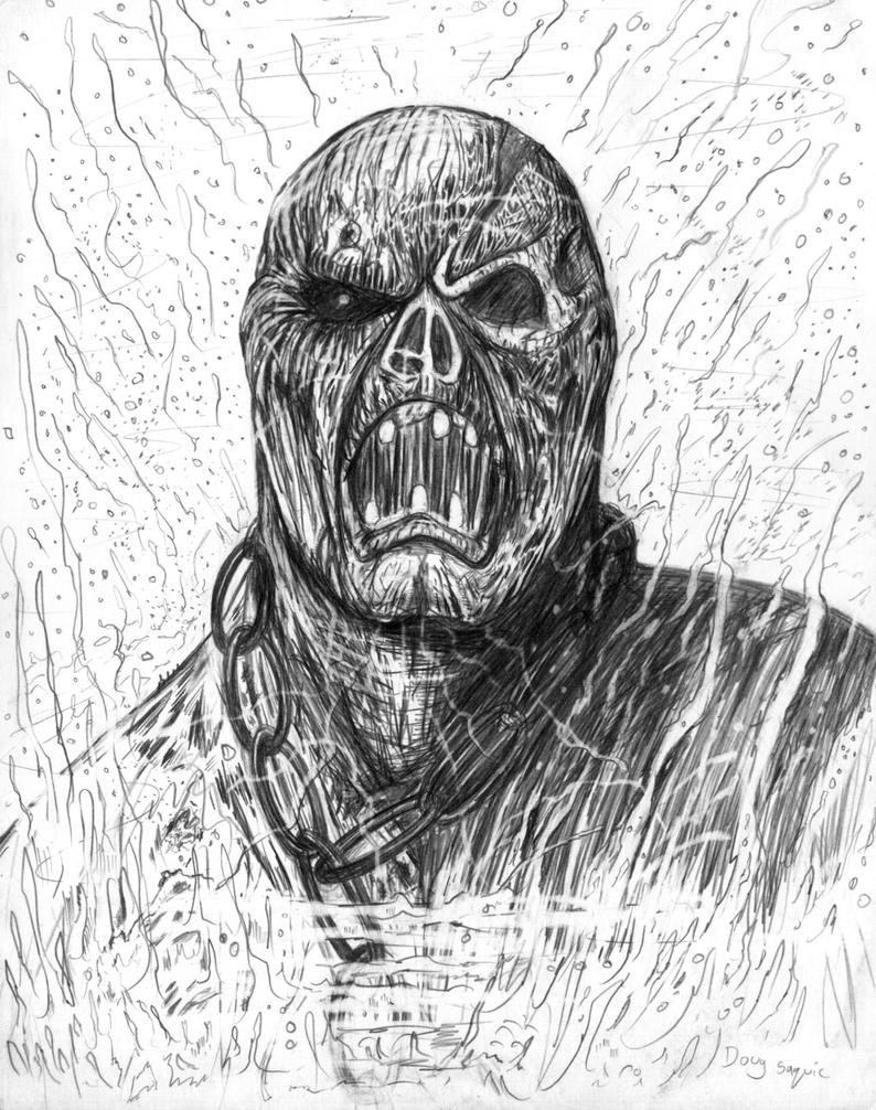 Friday the 13th part 7 Jason zombie by DougSQ on DeviantArt Jason Friday The 13th Drawings