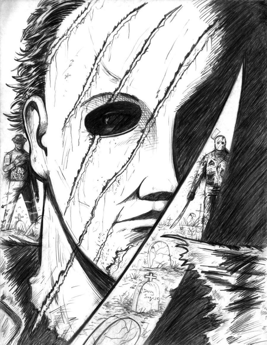 michael myers coloring pages - photo#31