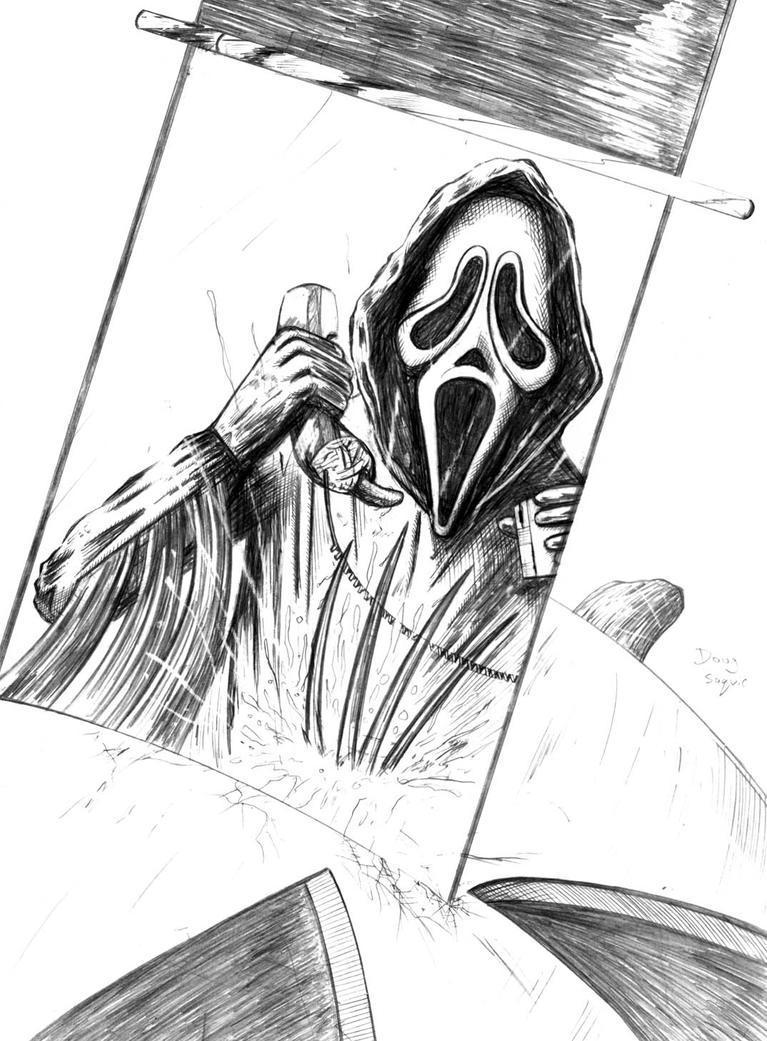 Scream Vs Freddy Krueger by DougSQ