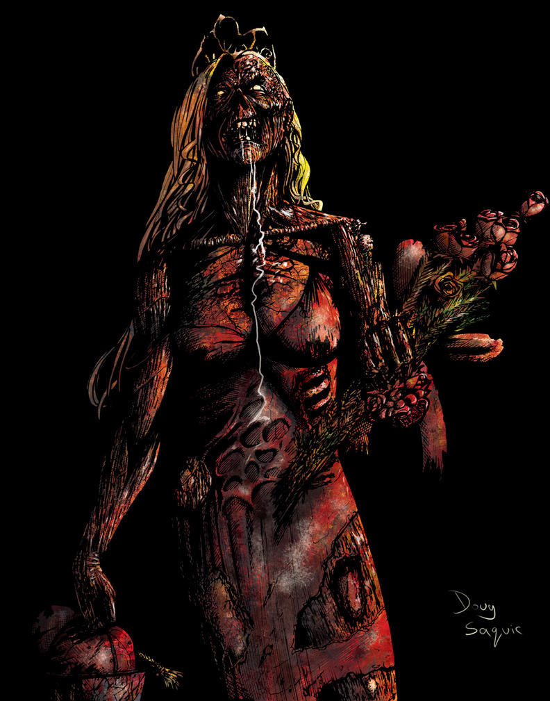 Carrie Zombie colored by DougSQ