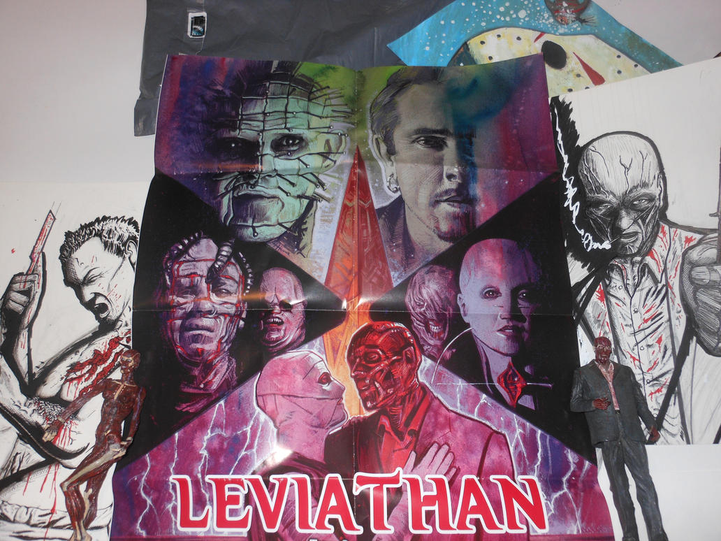 Leviathan The Story of Hellraiser poster by DougSQ